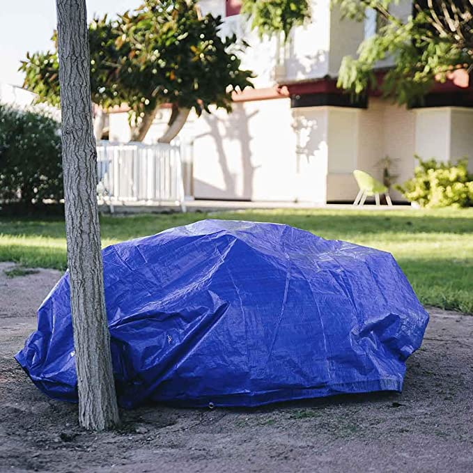 Toldo reforzado gramaje 90 grs, 3 x 4 m, color azul - Catral ...