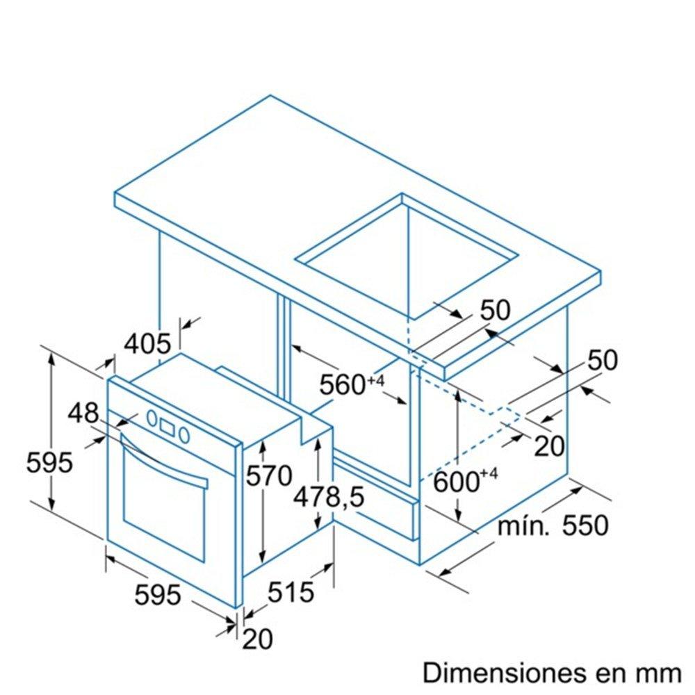 Balay 3HB504XM - Horno 3Hb504Xm Con 6 Funciones: Amazon.es ...