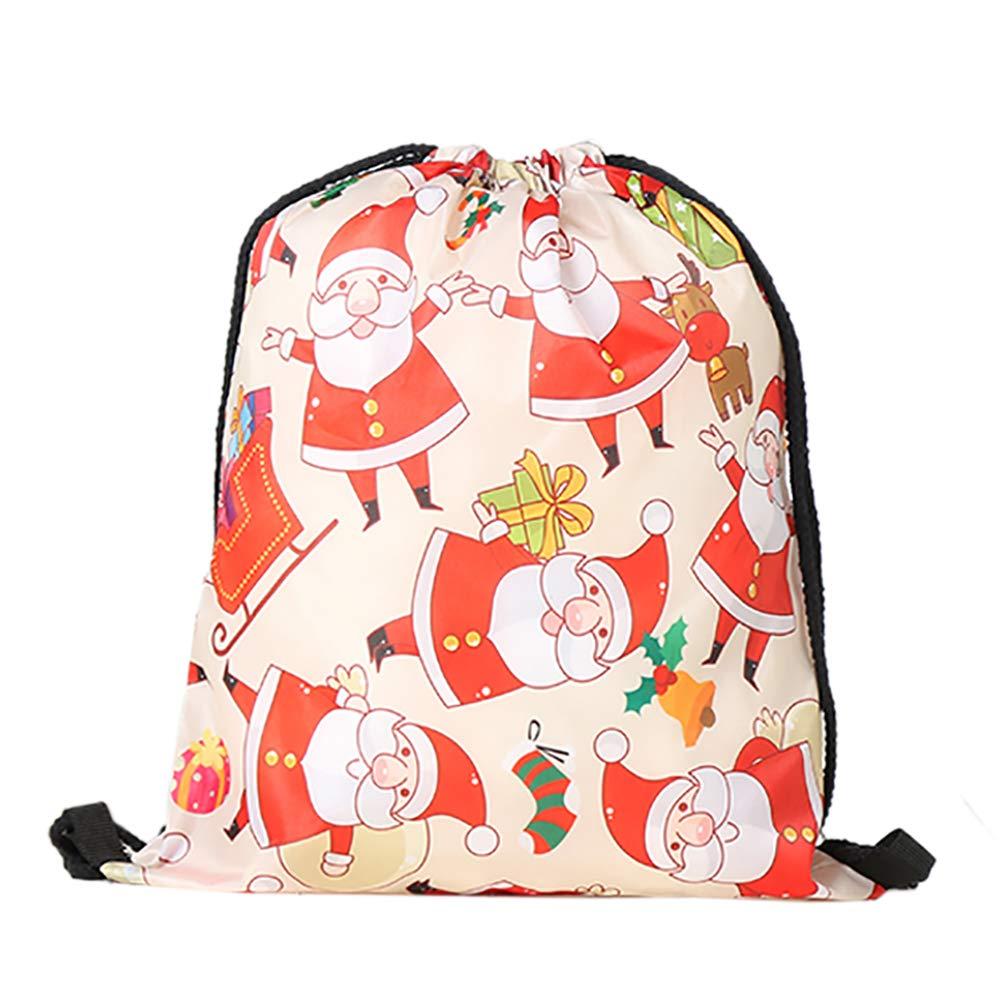 Santa Claus 12PACK Opromo 6 Pack Halloween Bag Pumpkin Pattern Print Goodie Bags for Trick or Treat