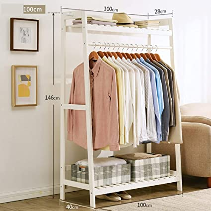 Amazon.com: MEIDUO Entryway Coat Rack Storage Shelves ...