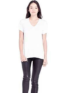 c796cacc955731 Amazon.com: Wilt Women's Short Sleeve Shrunken Boyfriend Tee ...