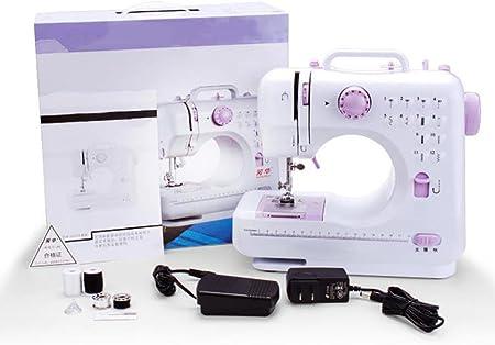Máquina de coser multifuncional de 12 puntadas equipo de costura ...
