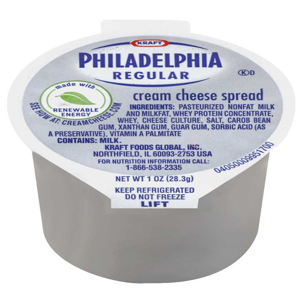 philadelphia cream cheese calories