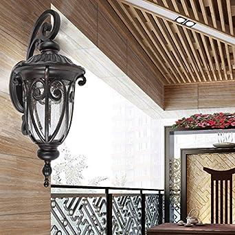 BOOTU lámpara LED y luces de pared Balcón apliques de pared exterior jardín de agua es un jardín privado apliques,310 * 230 * 590mm: Amazon.es: Iluminación
