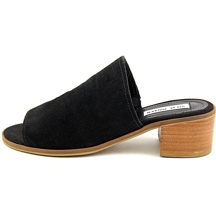 c892e9d1858 Steve Madden Richelle Women US 6 Black Slides Sandal  Amazon.ca  Shoes    Handbags