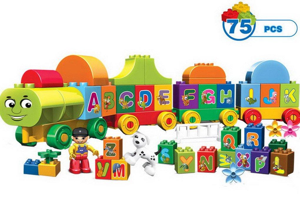 Premewish Bausteine Alphabetezug Lernspielzeug 75PCS B01MQXLHTR Bau- & Konstruktionsspielzeug Toy Story | New Listing