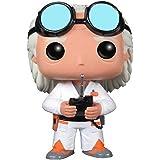 Pop! Movies - Dr. Emmet Brown 'Doc' de Regreso al futuro, figura de 10 cm (Funko FUNVPOP3399)