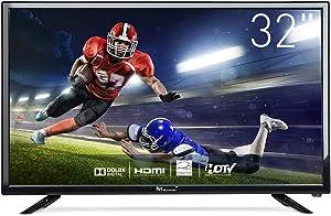 Myonaz LED HD TV 32 inch 720p Flat Screen TV HDMI USB with Energy Star (32-inch)