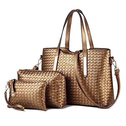 CoCogirls - Bolso mochila  de Otra Piel para mujer dorado