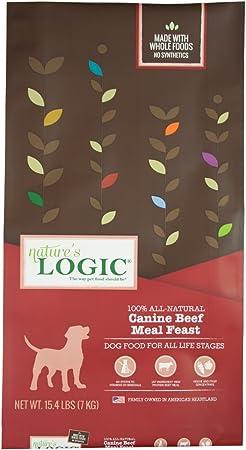 Nature'S Logic Dog Food Canine Meal Feast, Beef