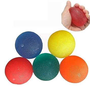 Balón de ejercicios para la mano apretar la terapia, ejercicio de ...