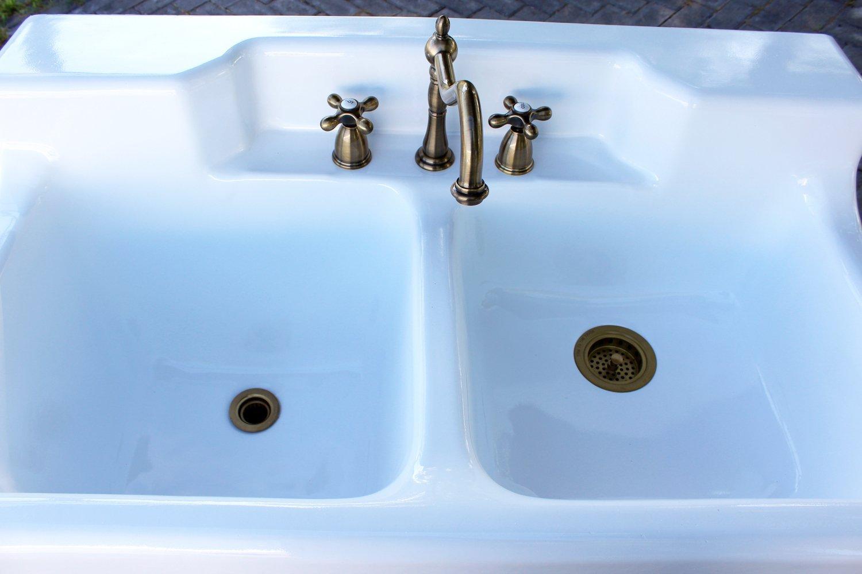 Amazon.com: Refinished 1947 Richmond Farm Sink 44\
