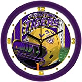 SunTime NCAA LSU Tigers Helmet Wall Clock