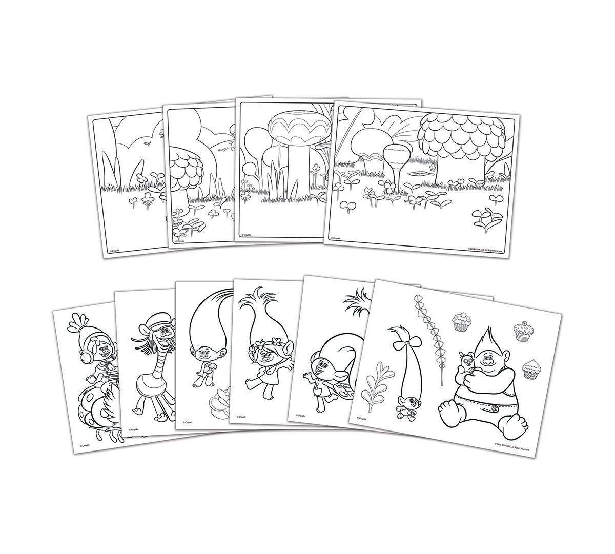 Crayola; Trolls Light-up Tracing Pad; Art Tool; Bright LEDs; Easy ...