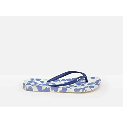 factory authentic 2019 authentic search for genuine Joules Flip Flops - SS19 White Petals 7 (40): Amazon.co.uk ...