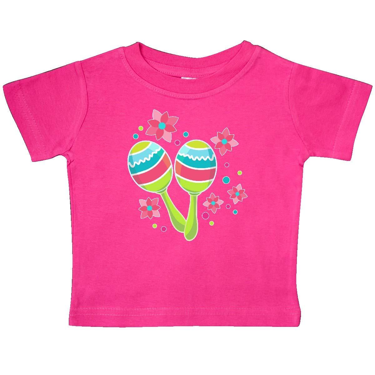 inktastic Maracas for Cinco De Mayo Baby T-Shirt