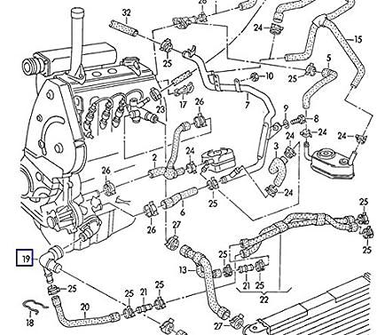 Amazon Com Lower Radiator Hose Adapter 037121619 Automotive