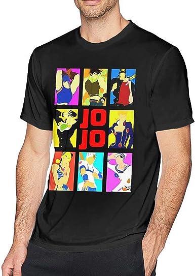 La Camiseta Divertida de los Hombres de la Aventura extraña de Jojo: Amazon.es: Ropa y accesorios