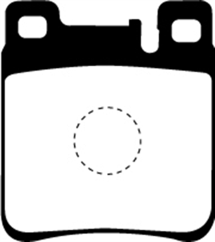 EBC Brakes UD603 Ultimax OEM Replacement Brake Pad