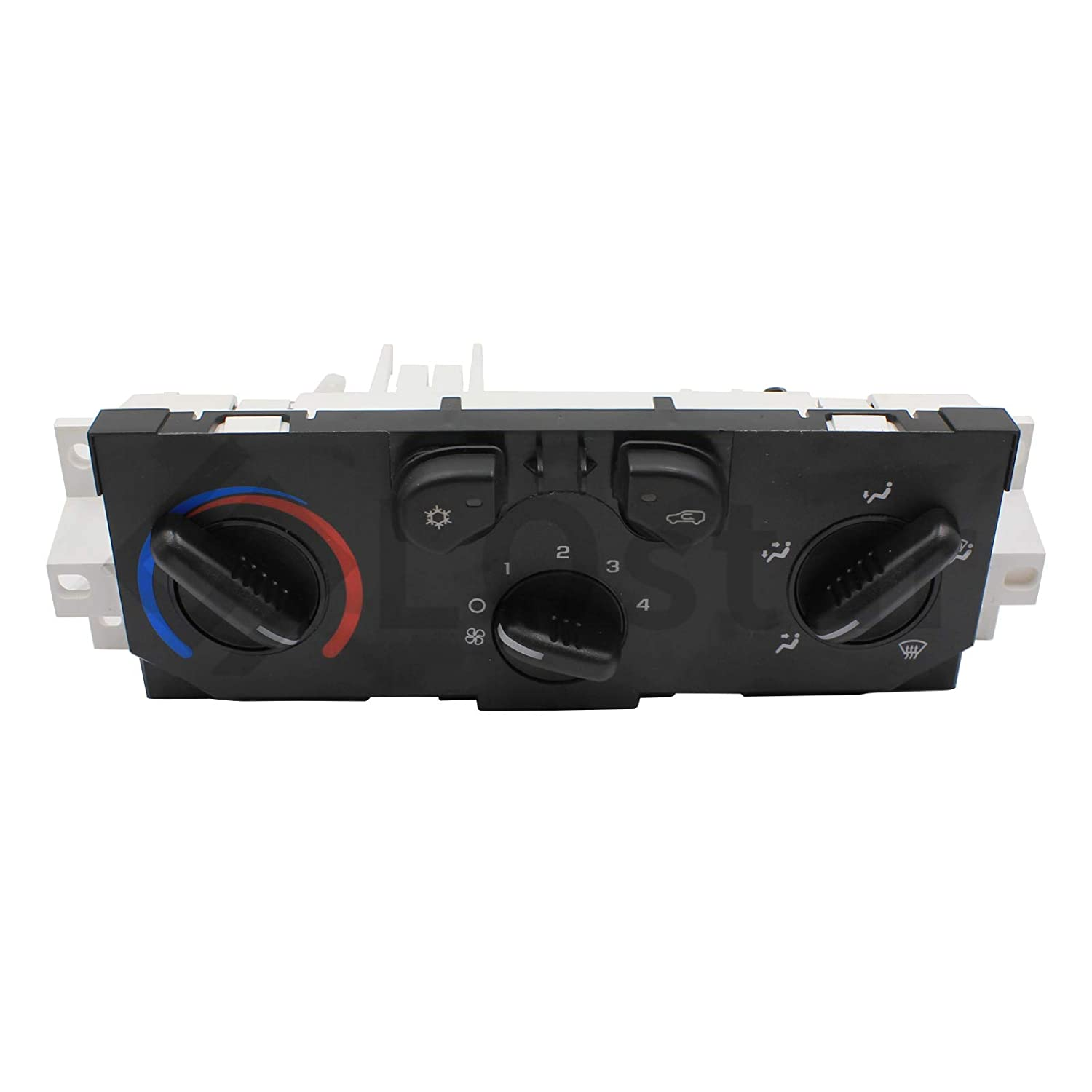 LOSTAR Manual A//C Air Conditioning Heater Control Panel Module Fits 2004 2005 2006 2007 2008 2009 2010 2011 2012 Chevy Colorado GMC Canyon 15-73870 25841856