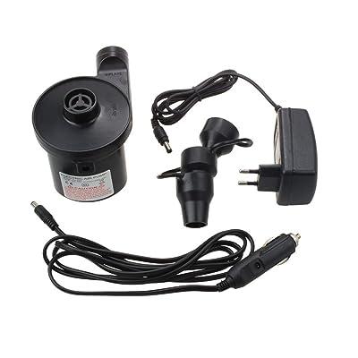 Sodial Pompe A Air Electrique Pompe Electrique Avec 3 Accessoires