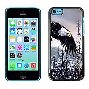 SHIMIN CAO- Dise?o Caso duro de la cubierta Shell protector FOR Apple iPhone 5C- Bald Eagle American