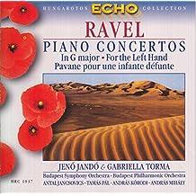 Piano Concertos: For the Left Hand Pavane Pour Une infante Defunte