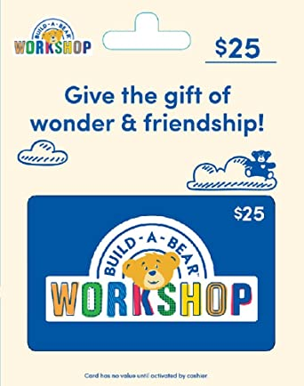 Amazon Com Build A Bear Gift Card 25 Gift Cards