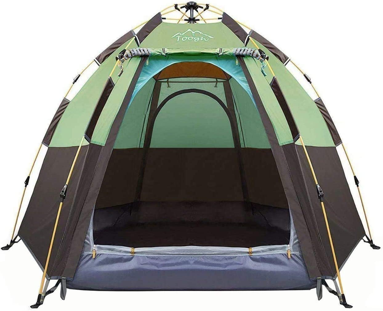 TOOGH 3-4 PERSON CAMPING TENT| POP UP CAMPING TENT