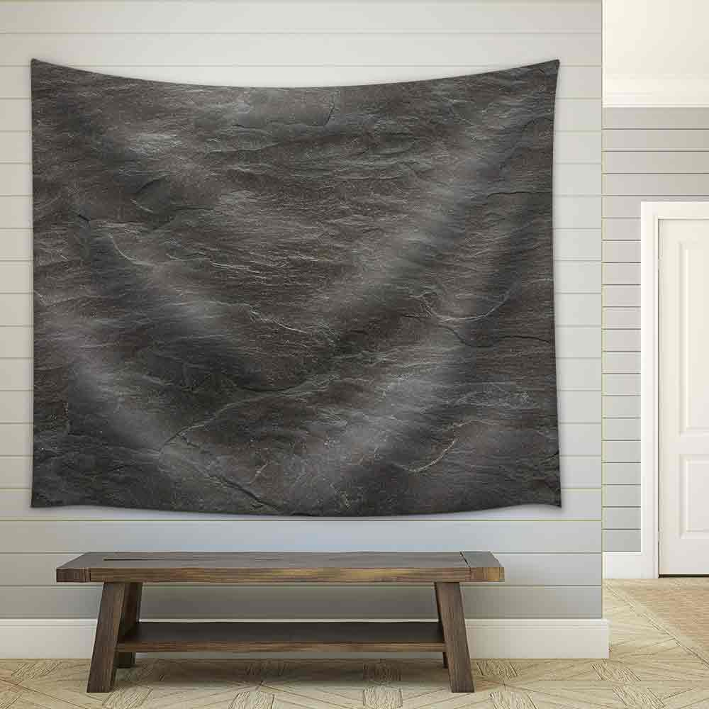 Flat Background Texture Of Slate Floor Tile Fabric Wall Tapestry