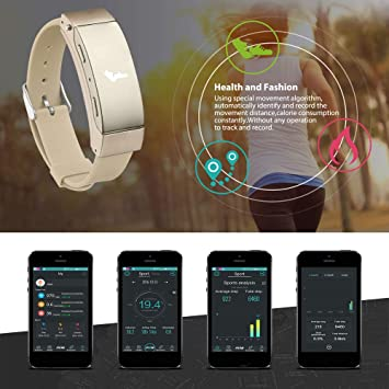Amazon.com: WoCoo Fitness Tracker K2 Bluetooth Activity Tracker Watch with Heart Rate Monitor, Waterproof Smart Bracelet for Gifts: Kitchen & Dining
