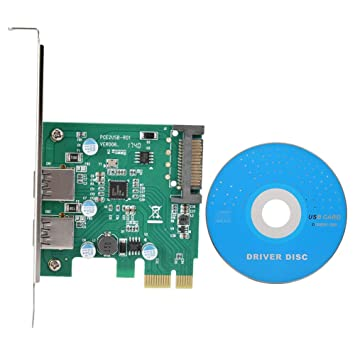 Acouto Tarjeta de expansión de PC, 2 Puertos USB 3.0 ...
