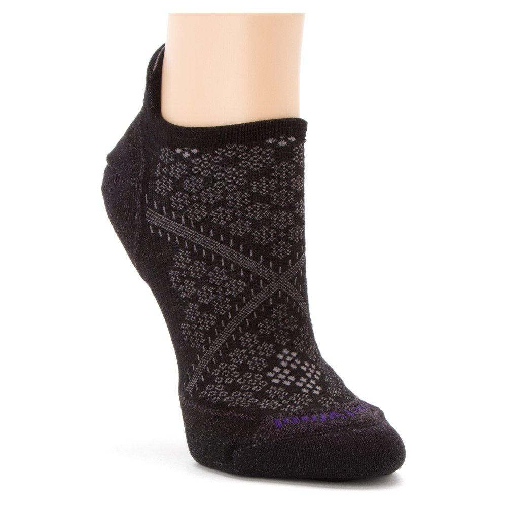 Smartwool Women's PhD Run Light Elite Micro Sock, Black, US M SW0SW210001-001