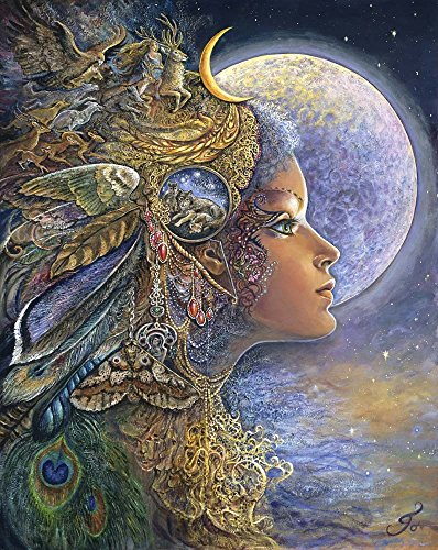 Diana by Josephine Wall Art Print, 16 x 20 inches