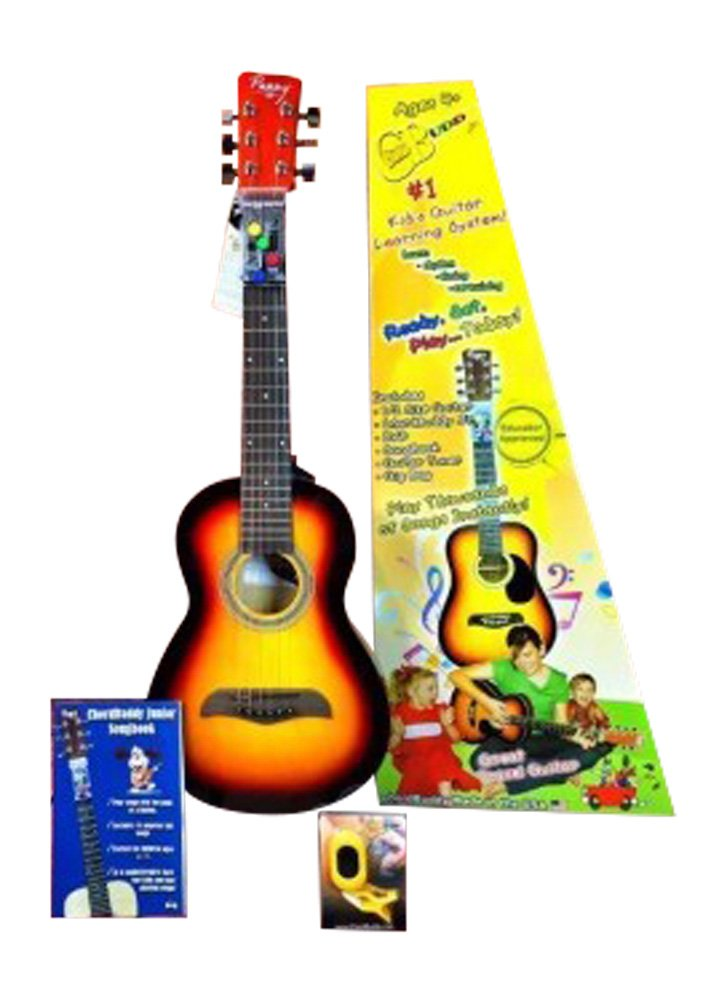 Amazon Chordbuddy Junior Guitar Learning Kit Includes