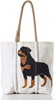 product image for Sea Bags Recycled Sail Cloth Rottweiler Tote
