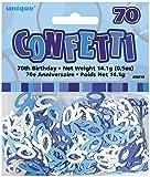 Unique Party Blue Confetti - 70