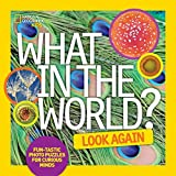 What in the World: Look Again: Fun-tastic Photo Puzzles for Curious Minds (National Geographic Kids)