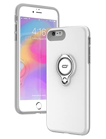 69db4c8b9e36f8 iPhone 6s Case, iPhone 6 case with Ring Kickstand by ICONFLANG, 360 Degree  Rotating