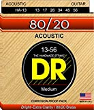 DR Strings Hi-Beam 80/20 - 80/20 Brass Acoustic13-56