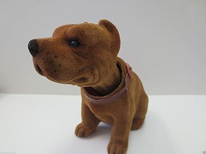 Bobble Head Bull Terrier Dog