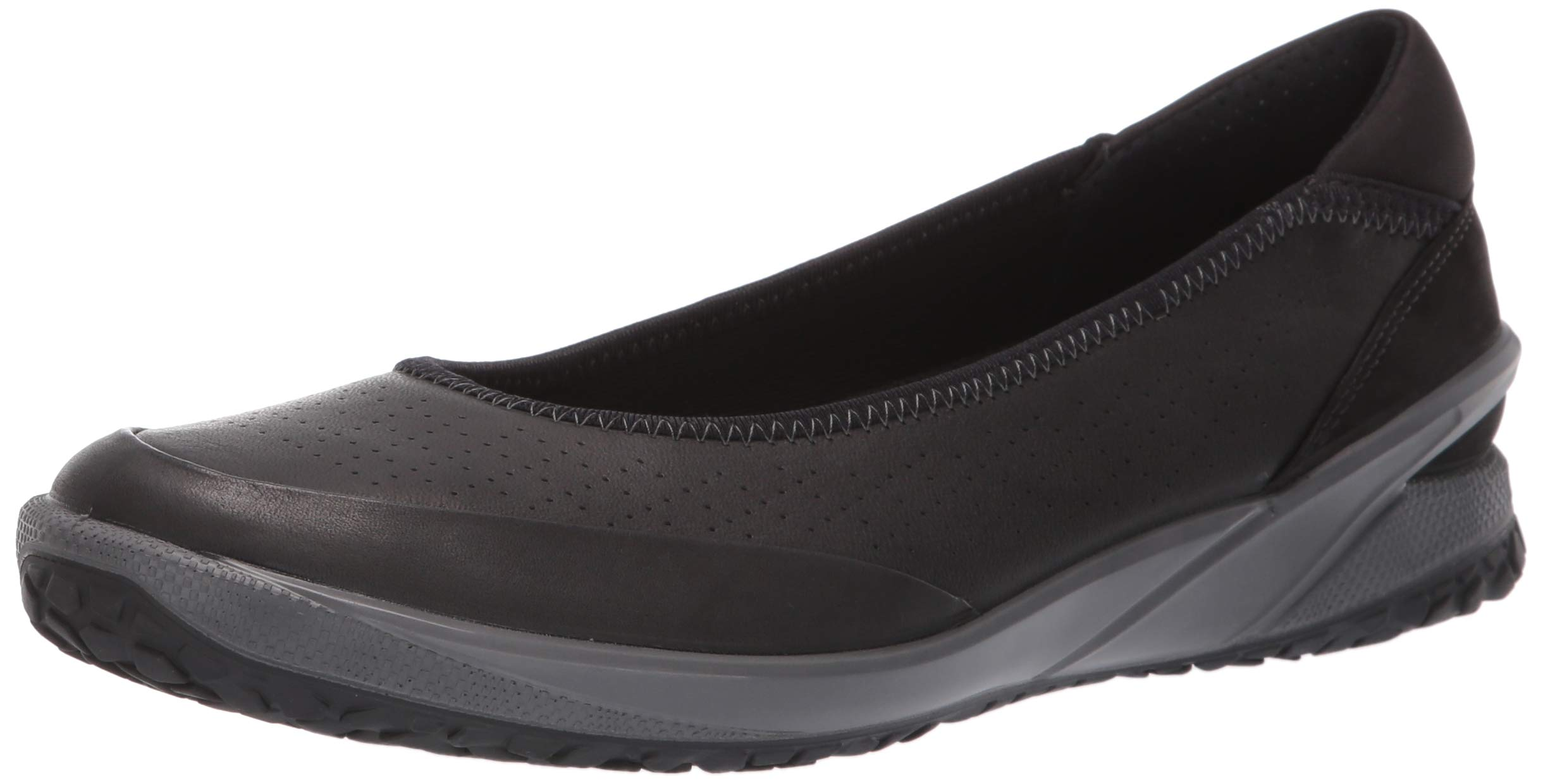 best selling closer at footwear ECCO Women's Biom Life Ballerina Sneaker, Black, 38 M EU (7-7.5 US)