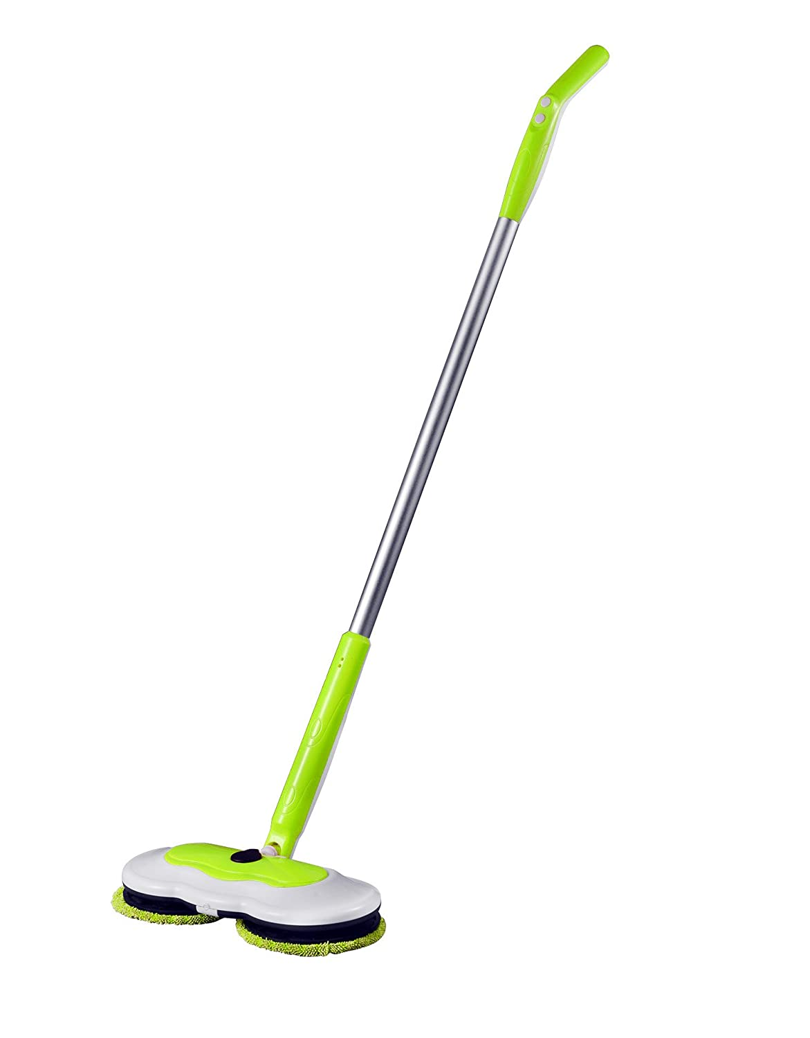 Armati Electric Cordless Mop - Household Sweeper Robot with Water Case  Allow Mixed Liquor, Acid Liquor, Alkaline Liquor - Green