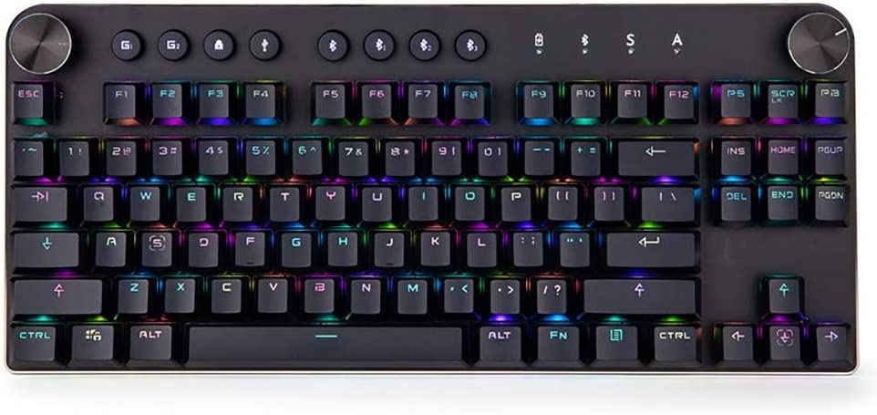 Laptop Keyboard for CLEVO W650EH MP-12N73US-430 6-80-W6500-013-1 United States US Purple Frame