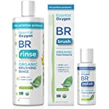 Essential Oxygen Pristine Protocol A 3-Step System (1. Rinse 2. Brush 3. Polish) for Your Best Smile Ever, 3 Count, Combo Pac
