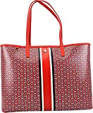 Tory Burch Gemini Link Tote Shoulder Bag (Exotic Red)
