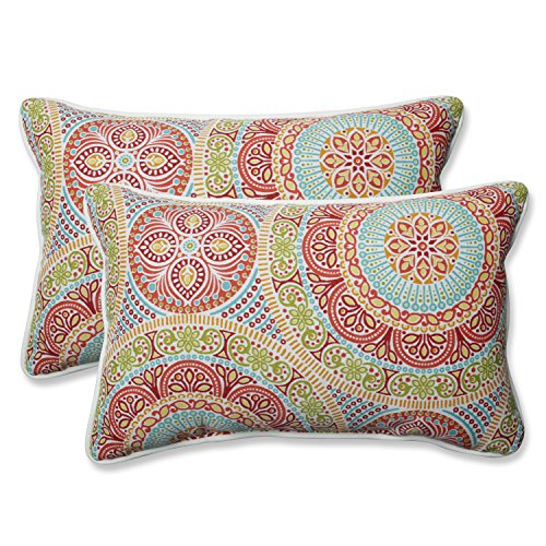 Pillow Perfect Outdoor | Indoor Delancey Jubilee ()