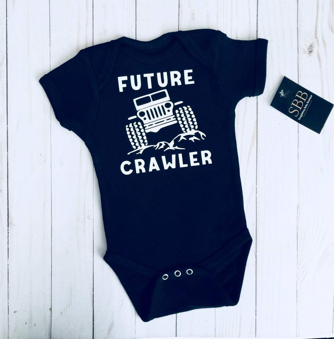 Baby Jeep clothes. FUTURE CRAWLER Onesie bodysuit