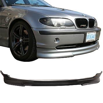 Parachoques delantero Labio para 1999 – 2003 BMW E46 | H Estilo Negro PU delantera Alerón