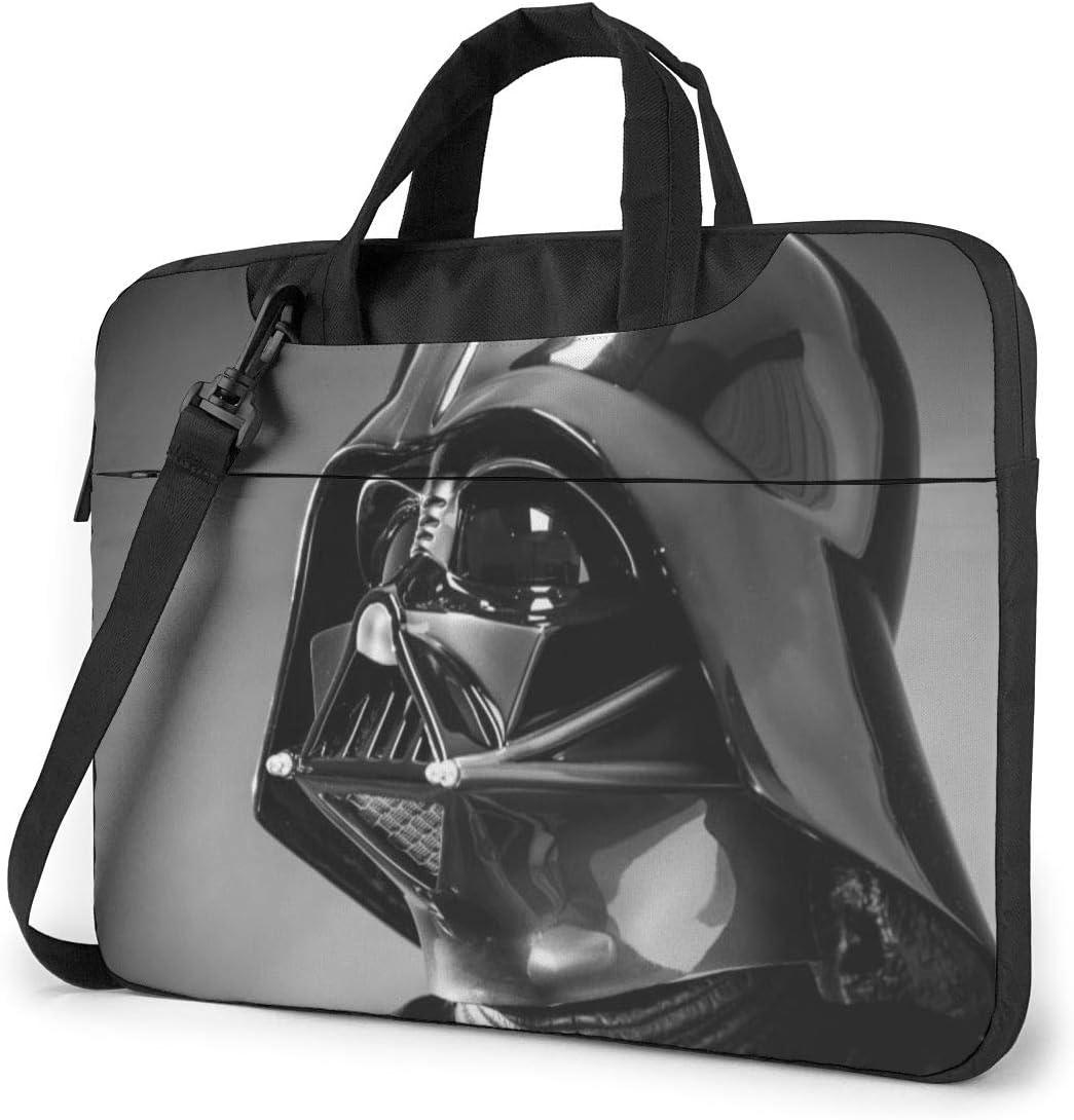 Star War Darth Vader Helmet Laptop Sleeve Laptop Bag Tablet Briefcase Ultraportable Protective Handbag Oxford Cloth-for MacBook Pro/MacBook Air/Notebook Computer 15.6 Inch